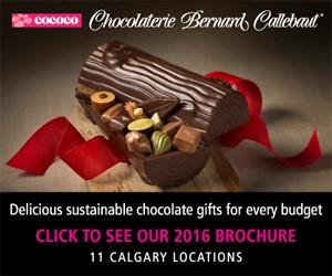 Ad: Cococo Chocolaterie Bernard Callebaut