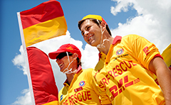 Photo of Surf Life Savers at Tannum Sands beach