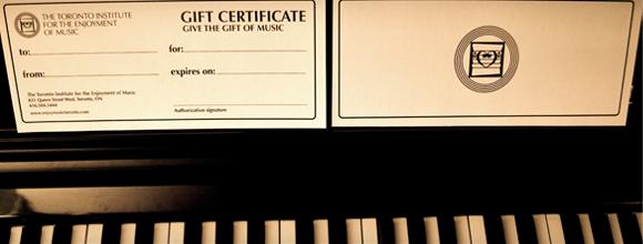 TIFEM Gift Certificates