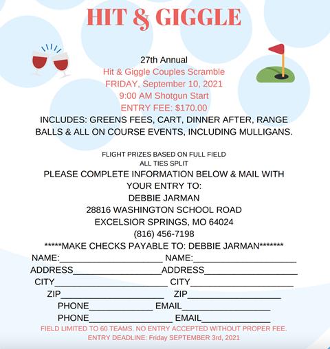 Hit & Giggle Tournament