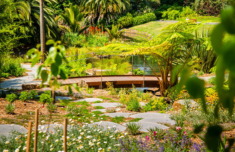 Get your zen on by visiting the sublime new Sensory Garden at Melbourne Gardens.