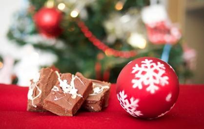 Joulupallo ja toffee