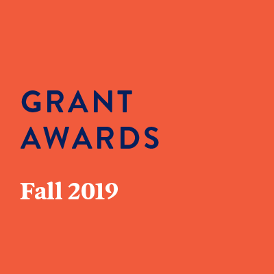Grant Awards Fall 2019