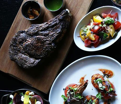 An iconic steakhouse broadens its horizons with an enticing new menu