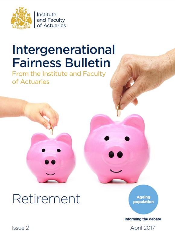 Intergenerational Fairness Bulletin cover