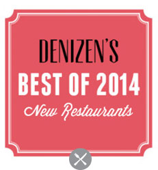 BEST OF 2014: NEW RESTAURANTS