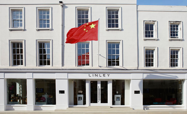 Linley Chinese flag