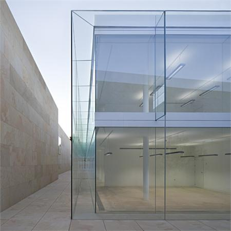 Offices for Junta de Castilla y León by Alberto Campo Baeza