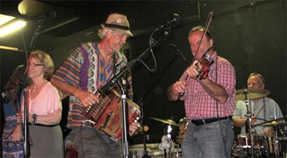 Gulfport Ramblers with guest fiddle player Al Berard