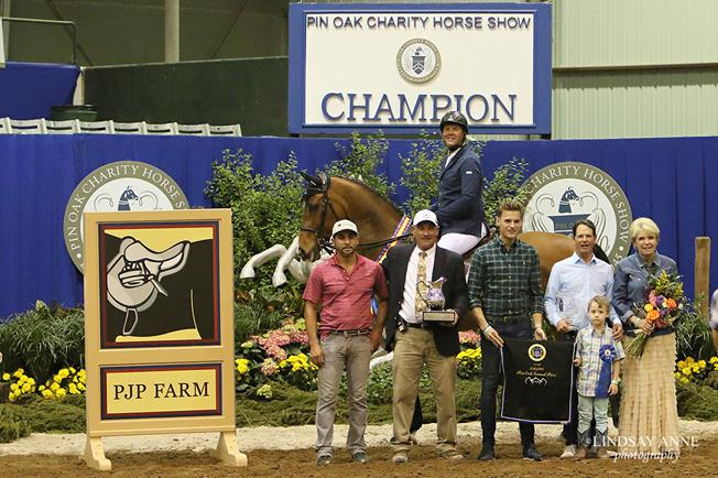 """Cyphert, of Woodhill Farm in Northlake, Texas, wil now be departing Pin Oak for the FEI World Cup Finals in Omaha, Nebraska, next week. """"I'm not in the World Cup Final, but I was invited to do the Grand Prix there Saturday night. That's quite an honor, and I'm very excited to do that with my hors"""