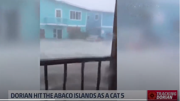 Dorian Hits the Abaco Islands as a CAT 5