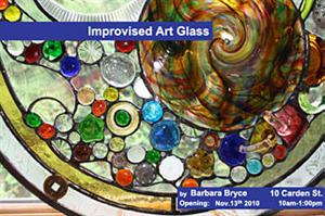 Guest Artist: Barbara Bryce | Improvised Art Glass