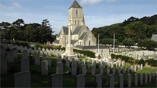 Etretat&#32;Churchyard&#32;Extension