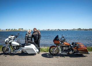 Moto aux Îles de la Madeleine