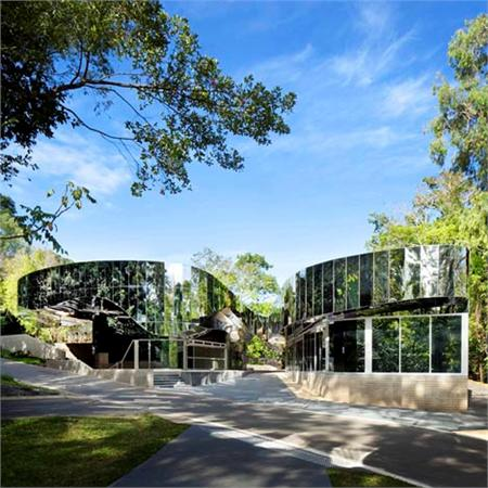 Cairns Botanic Gardens Visitors Centre by Charles Wright Architects