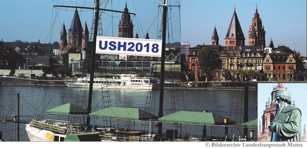 Photo of Mainz with Usher 2018 banner