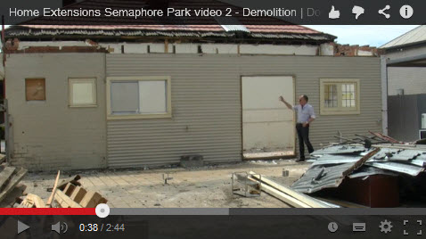 Demolition for Home Extensions Adelaide