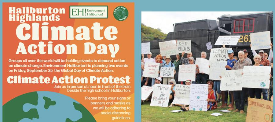 Environment Haliburton Climate Action Day poster