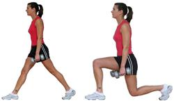 Exercise of the Month - Lunges