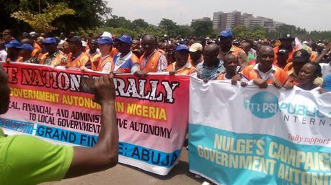 La ISP apoya la lucha de NULGE por la autonomía de los gobiernos locales nigerianos