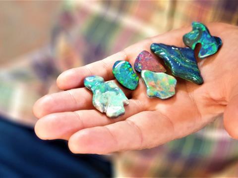 Opal in Lightning Ridge