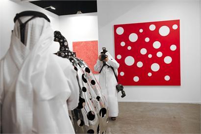 Victoria Miro, Art Dubai 2013. Courtesy Katrin Greiling