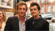 Orlando Bloom &amp; Nick English at the Boutique opening