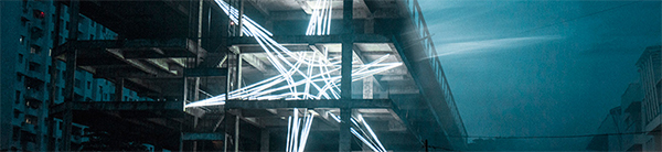 Artists creates 5 storey glowing star