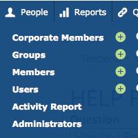 Email Site Adminsitrator Screenshot