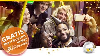 Zet het nieuwe jaar onbezorgd in. Met bus of tram reis je veilig!