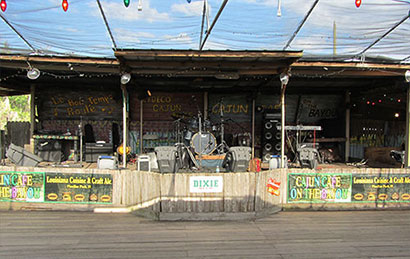 Cajun Cafe on the Bayou