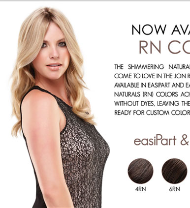 New easiPart & easiFringe by Easihair Colors