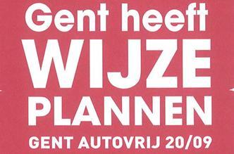 Gent Autovrij 20 september