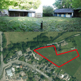 Photo montage of sites in Ewenny and Corntown
