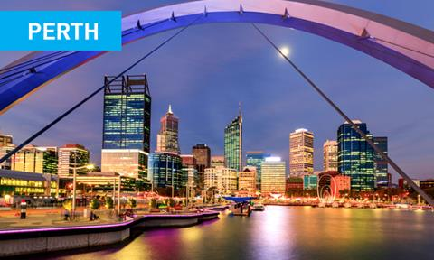 Book flights to Perth