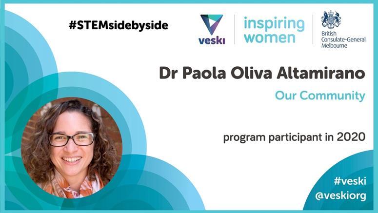 Paola Oliva Altamirano, veski program participant