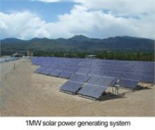 iMW solar power generating system