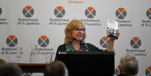 Conny Lenneberg at book launch