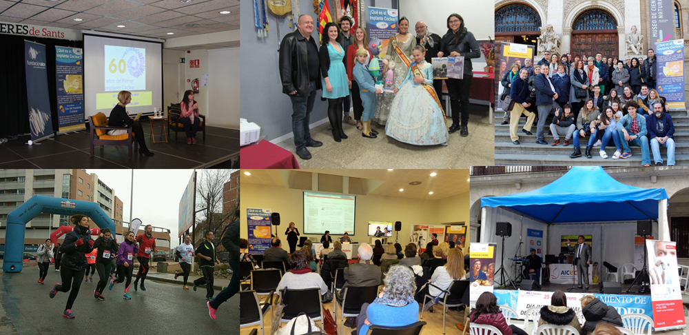 Photo: Some moments from the CI Day Events in Spain