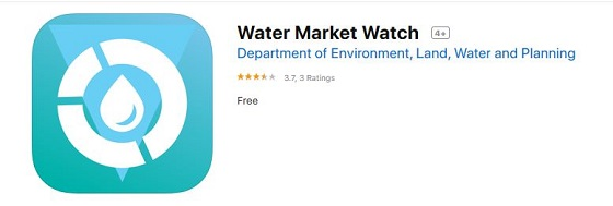 Water Market Watch app