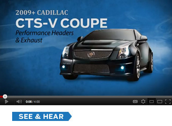 Cadillac CTS-V Coupe Video