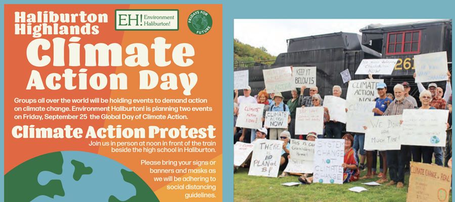 Environment Haliburton Climate Action Day poster