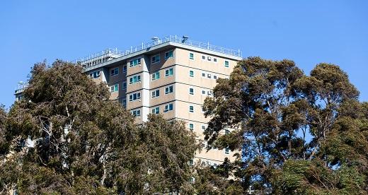 Inner city high-rise public housing