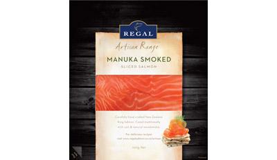 New Regal Salmon packaging
