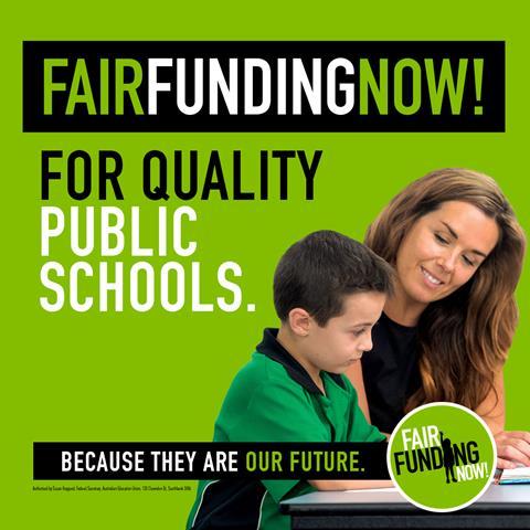 Fair funding campaign