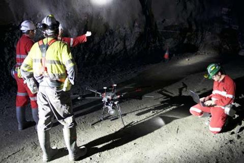 Underground drones