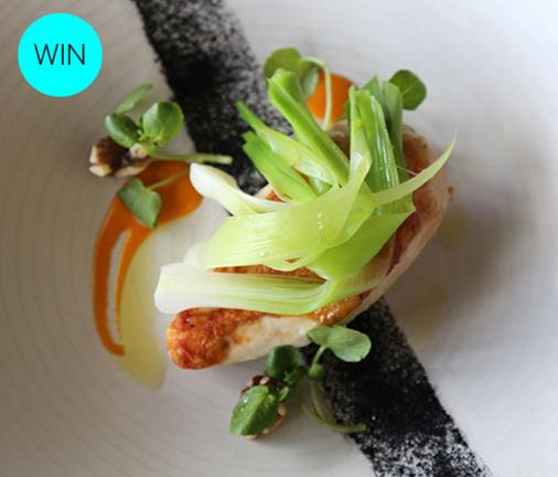 Here's your chance to win a champagne lunch for 4 at Chapel