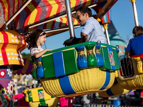 Rides at The Royal Easter Show