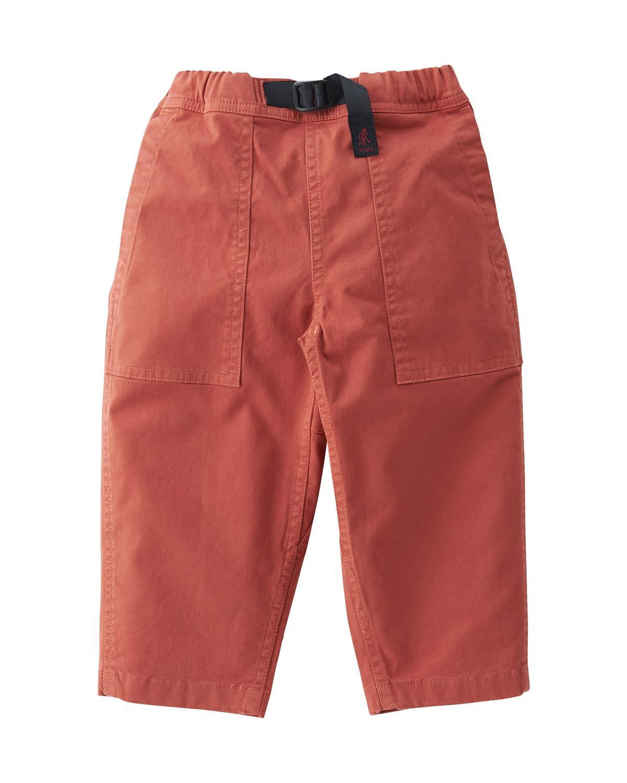 Kids Loose Tapered Pants (Terra Cotta)