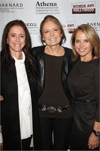 Julie Taymor, Gloria Steinem, Katie Couric